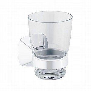 Keuco City 2  Glashalter mit Kristallglas