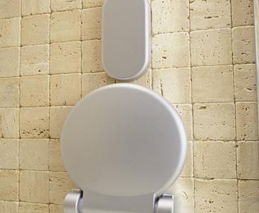Universal Rückenlehne für die Dusche