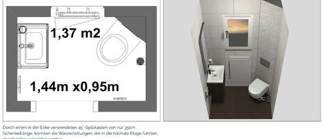 realisierte Bäder und Gäste-WCs